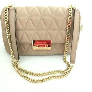 Michael Kors Sloan Quilted Double Chain Strap bag